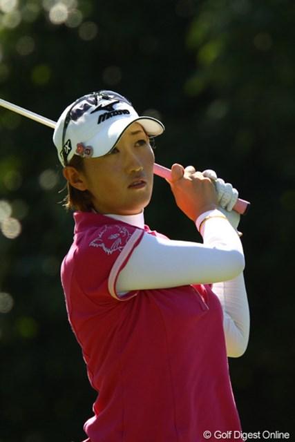 2010年 日本女子プロゴルフ選手権大会コニカミノルタ杯最終日 飯島茜 帽子だったり、ウェアだったり・・・いつも猫が一緒です。