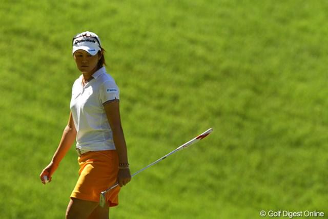 2010年 日本女子プロゴルフ選手権大会コニカミノルタ杯最終日 諸見里しのぶ 結局、初日以外は見せ場を作れませんでした。どうしたんだろう?