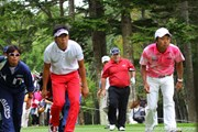 2010年 ANAオープンゴルフトーナメント初日 上井邦浩&片山晋呉