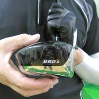 重心高さはやや高めに設計されたハイバック形状 マーク金井の試打IP ロイヤルコレクション BBD's ツアー VS ドライバー NO.2