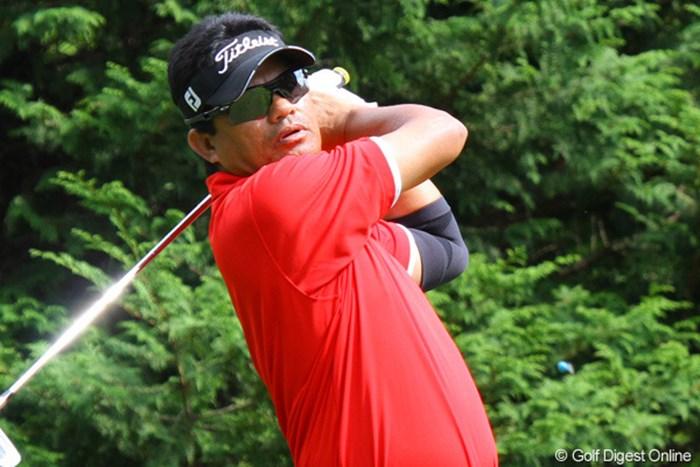 ベテランが奮起!2バーディ、1ボギーと静かなゴルフで4位タイにつける 2010年 ANAオープンゴルフトーナメント2日目 フランキー・ミノザ