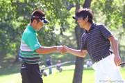 2010年 ANAオープンゴルフトーナメント3日目 池田勇太&深掘圭一郎