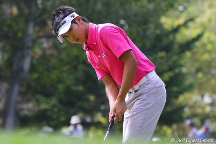 通算1オーバーの45位タイで踏ん張り、ベストアマ有力候補の宇佐美祐樹 2010年 ANAオープンゴルフトーナメント3日目 宇佐美祐樹