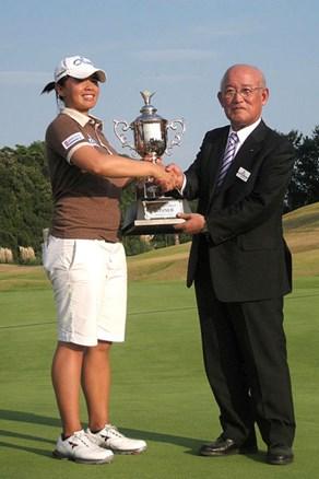金田久美子は2位に終わる/ステップ・アップ・ツアー最終日