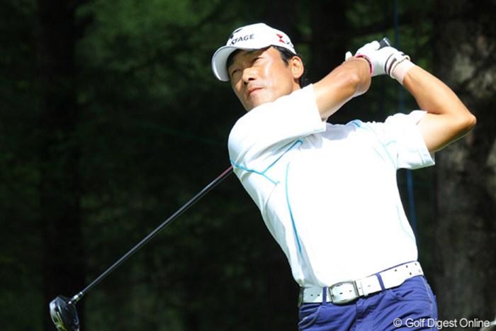 4日間通算9アンダーをマークした岡茂洋雄が、4位タイの大健闘 2010年 ANAオープンゴルフトーナメント最終日 岡茂洋雄