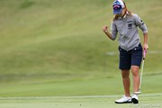 2010年 ミヤギテレビ杯ダンロップ女子オープンゴルフトーナメント初日 上田桃子