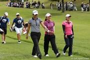 2010年 ミヤギテレビ杯ダンロップ女子オープンゴルフトーナメント初日 ヤニ&有村&横峯