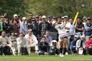 2010年 ミヤギテレビ杯ダンロップ女子オープンゴルフトーナメント初日 有村智恵