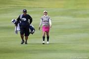2010年 ミヤギテレビ杯ダンロップ女子オープンゴルフトーナメント初日 飯島茜