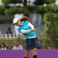池内姉妹の絵梨藻よく似てますね。 2010年 ミヤギテレビ杯ダンロップ女子オープンゴルフトーナメント初日 池内絵梨藻