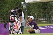2010年 ミヤギテレビ杯ダンロップ女子オープンゴルフトーナメント初日 池内真梨藻