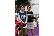 2010年 ミヤギテレビ杯ダンロップ女子オープンゴルフトーナメント初日 竹村真琴&姉
