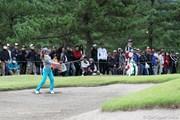 2010年 ミヤギテレビ杯ダンロップ女子オープンゴルフトーナメント2日目 上田桃子