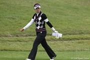 2010年 ミヤギテレビ杯ダンロップ女子オープンゴルフトーナメント2日目 大山志保