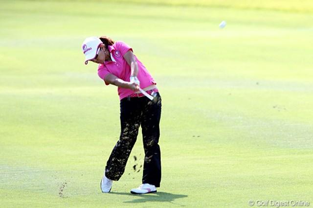 2010年 ミヤギテレビ杯ダンロップ女子オープンゴルフトーナメント最終日 宮里美香 期待がかかったけど6位タイフィニッシュの美香ちゃんです