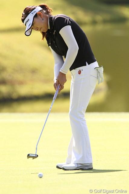 2010年 ミヤギテレビ杯ダンロップ女子オープンゴルフトーナメント最終日 イエ・リーイン 中国のイエ・リーイン、韓国、台湾勢に負けじと6位タイでフィニッシュです