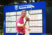 2010年 アジアパシフィック パナソニックオープン最終日 ブレンダン・ジョーンズ