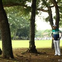 US女子オープンチャンピオンでさえも、大利根CCの罠にハマります。今日は2つスコアを伸ばして、イーブンパー11位タイです。 2010年 日本女子オープンゴルフ選手権競技2日目 チ・ウンヒ