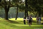 2010年 日本女子オープンゴルフ選手権競技2日目 上田桃子