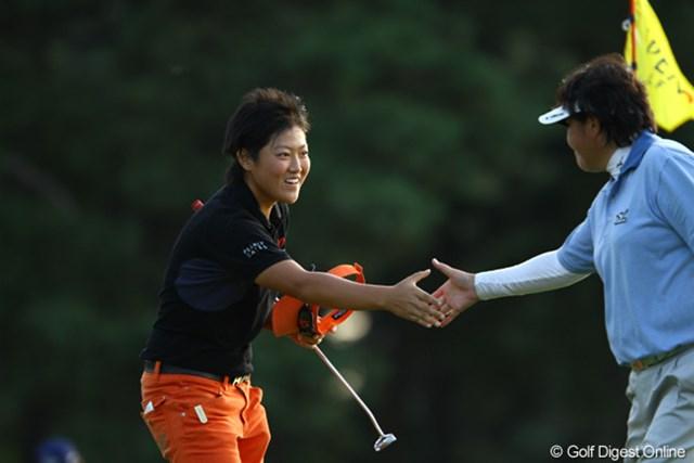 2010年 日本女子オープン2日目 工藤遥加 プロ野球・西武の工藤公康投手の長女、工藤遥加が初のプロツアー出場で予選突破!