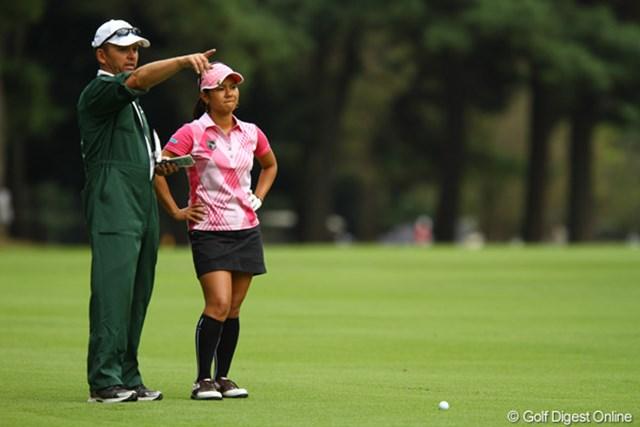 2010年 日本女子オープンゴルフ選手権競技最終日 宮里藍 体調不良に祟られたものの、目標のトップ10入りを果たした宮里藍