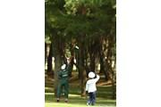 2010年 日本女子オープンゴルフ選手権競技最終日 3番ロングホールセカンド地点