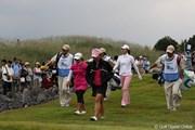 2010年 SANKYOレディースオープン初日 15番パー4