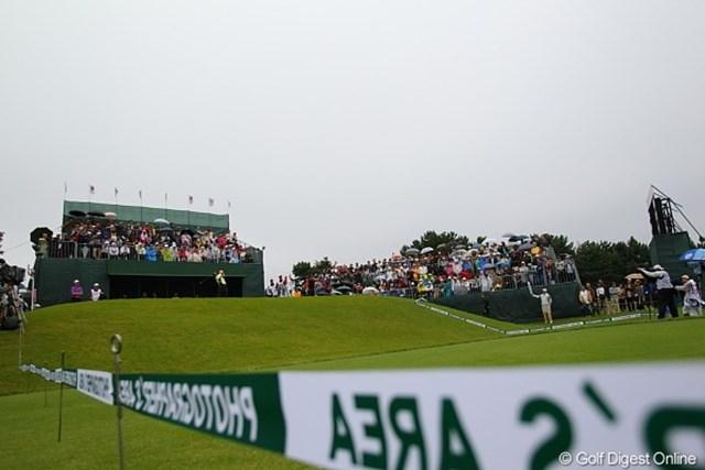 2010年 キヤノンオープン3日目 戸塚CC 残念ながら雨の3日目となった戸塚カントリー倶楽部。