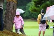 2010年 キヤノンオープン3日目 ギャラリーの子供