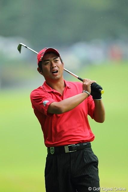 首位に8打差の29位に後退。大会連覇は厳しい状況となった池田勇太
