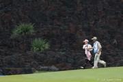 2010年 SANKYOレディースオープン2日目 溶岩壁