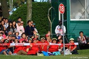 2010年 キヤノンオープン最終日 石川遼の応援団