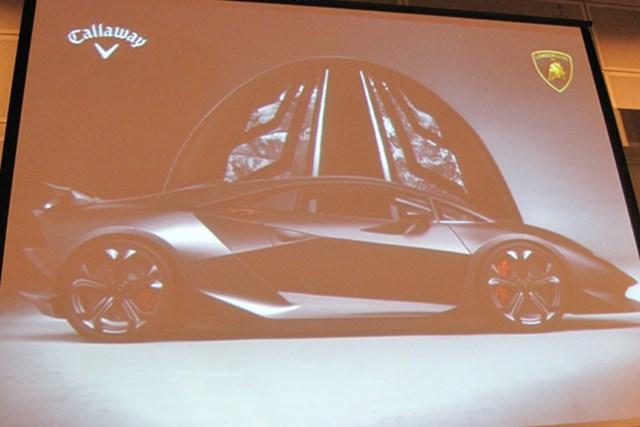 キャロウェイ、新ブランド「レイザー」を発表 NO.8 キャロウェイとイタリアのスポーツカー ランボルギーニが新素材「フォージドコンポジット」を共同開発