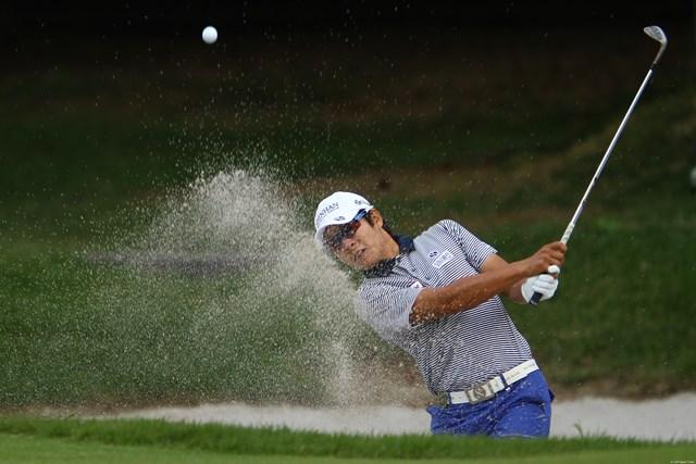 2010年 日本オープンゴルフ選手権競技 3日目 キム・キョンテ ショットの調子が悪いと言いながらも、今日も3つスコアを伸ばして、6アンダー単独5位です。優勝すれば賞金ランキング1位になる可能性もありです。