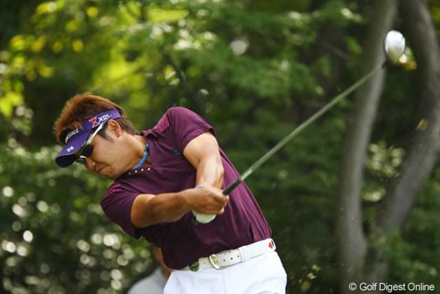2010年 日本オープンゴルフ選手権競技 3日目 高山忠洋 今日も60台でラウンド。徐々に調子が上がって来てるようです。2アンダー9位タイです。