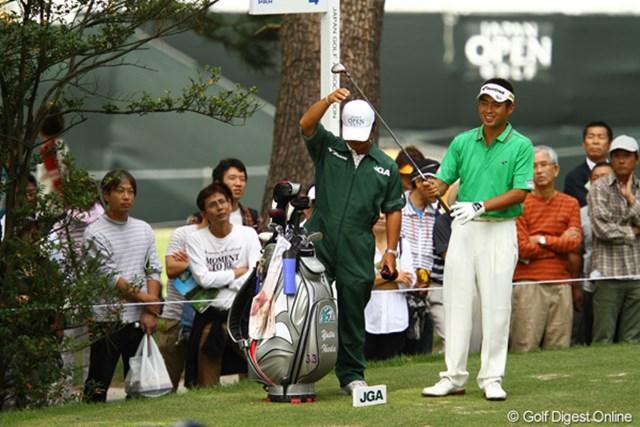 2010年 日本オープンゴルフ選手権競技 3日目 池田勇太 今週はなかなかスーパーラウンドができませんねぇ。最終日の爆発に期待。