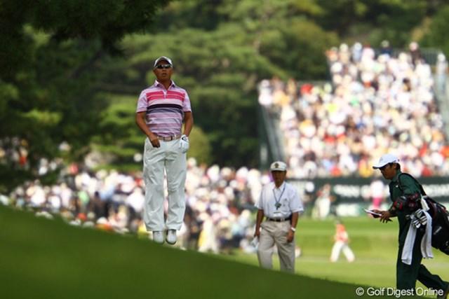 2010年 日本オープンゴルフ選手権競技 3日目 谷口徹 「どこ?」