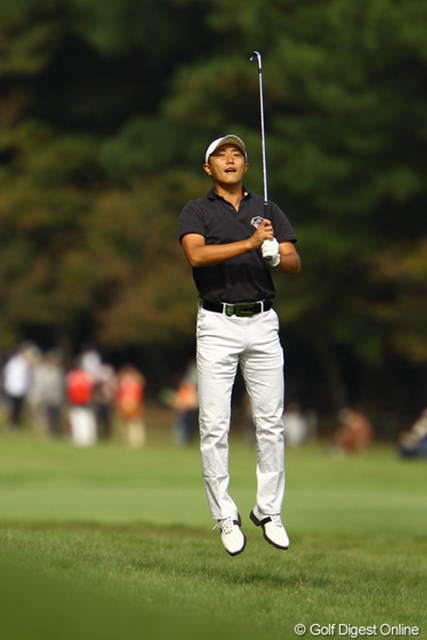 2010年 日本オープンゴルフ選手権競技 3日目 岸本翔太 「だからピンどこっ???」
