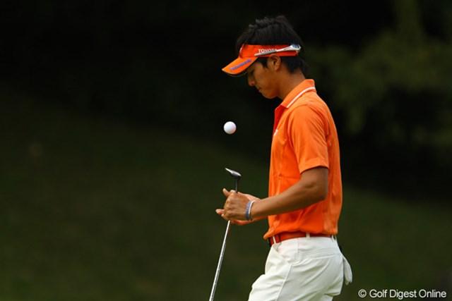 2010年 日本オープンゴルフ選手権競技 3日目 石川遼 パターも入らないし・・・。