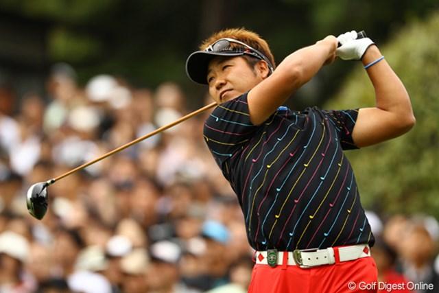 2010年 日本オープンゴルフ選手権競技 最終日 高山忠洋 昨日に続いて、今日も3つスコアを伸ばし、単独6位フィニッシュです。
