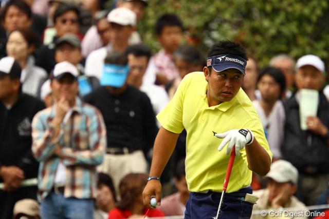 2010年 日本オープンゴルフ選手権競技 最終日 小田龍一 「あ~ぁ、あのデカイ優勝カップね。欲しいの?俺は去年もらったよ。」