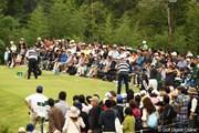 2010年 日本オープンゴルフ選手権競技 最終日 ドライビングレンジ