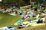 2010年 日本オープンゴルフ選手権競技 最終日 18番グリーンサイド
