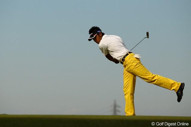 2010年 日本オープンゴルフ選手権競技 最終日 松山英樹 「おいっ!入らんのか???」