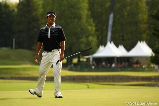 2010年 日本オープンゴルフ選手権競技 最終日 武藤俊憲 15・16・17番、どれか一つでもバーディパットが決まっていれば・・・。