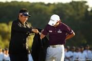 2010年 日本オープンゴルフ選手権競技 最終日 小田龍一とキム・キョンテ