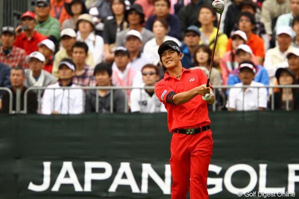 遼、自分のゴルフができず8位タイに沈む