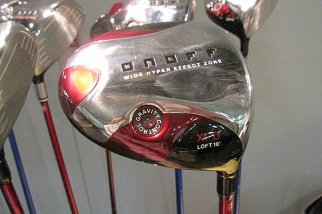 「オノフドライバー type-D」は、安心感がある大きなヘッドで、クラブ全体のつかまりがいい