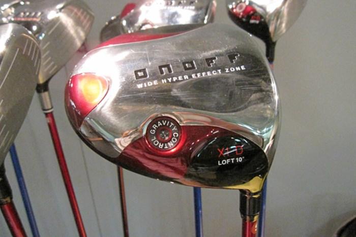 「オノフドライバー type-D」は、安心感がある大きなヘッドで、クラブ全体のつかまりがいい グローブライドが「オノフ」新製品を発表 NO.1