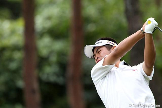 ホステスプロとしてのゴルフを魅せる若大将。